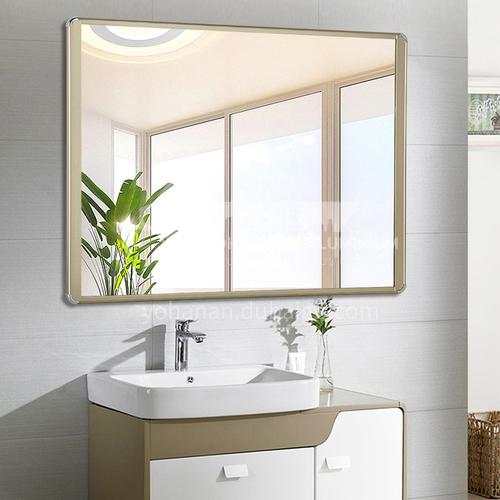 Aluminum frame bathroom mirror, bathroom vanity mirror, wall-mounted