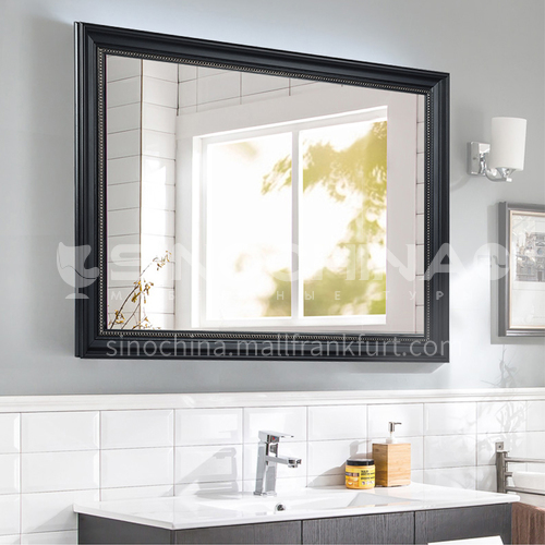American bathroom mirror European bathroom cabinet mirror Wall-mounted bathroom vanity mirror can be customized
