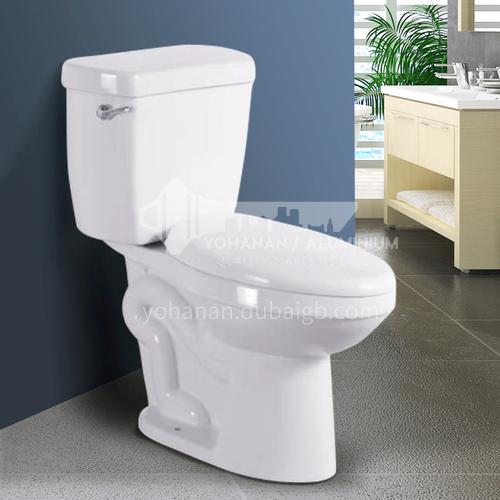 Apartment toilets household toilets small apartment siphon type split toilet 8117