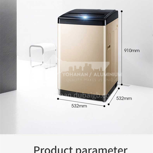 Hisense automatic household dehydration, drying and elution integrated small pulsator washing machine 8 kg DQ000239