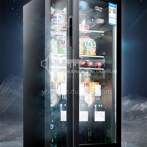 SAST household refrigerator small office ice bar refrigerator hotel display tea beverage wine cooler 71 liters DQ000043