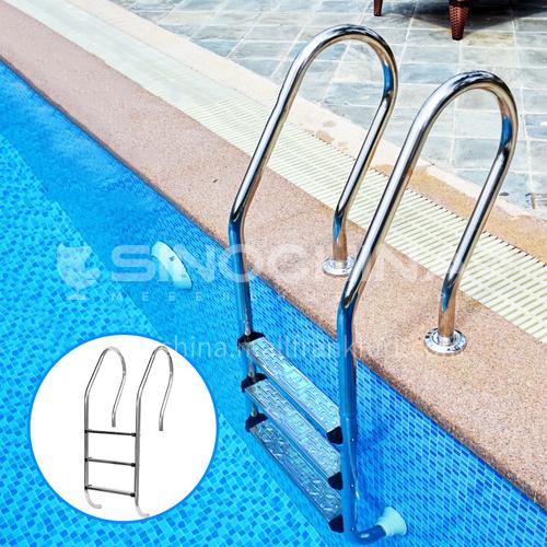 Supply SF Mermaid Swimming Pool Escalator 1.0mm304 Stainless Steel Swimming Pool Handrails Single Sided Swimming Pool Escalator DQ000830