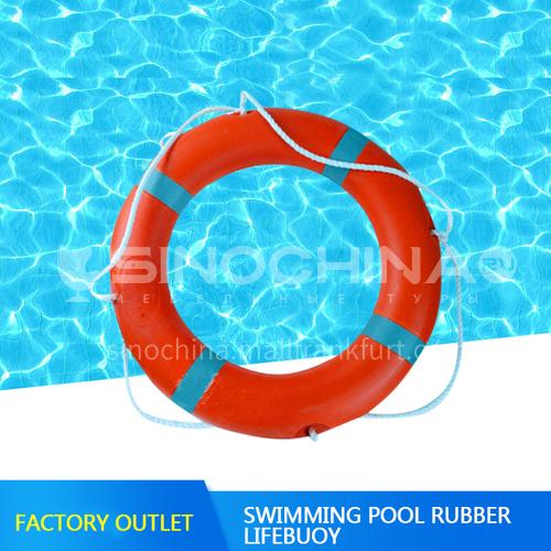 Plastic swimming pool lifebuoy High-end durable plastic swimming pool lifebuoy equipment Swimming pool lifebuoy DQ000851