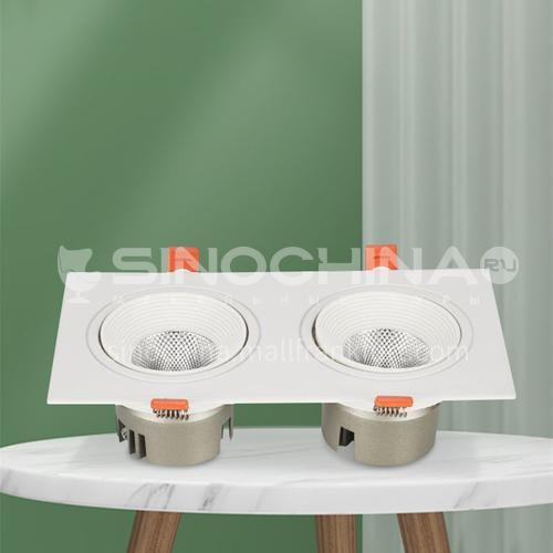 LED Home Hotel Aluminum Double Spot Light-AD-NF701