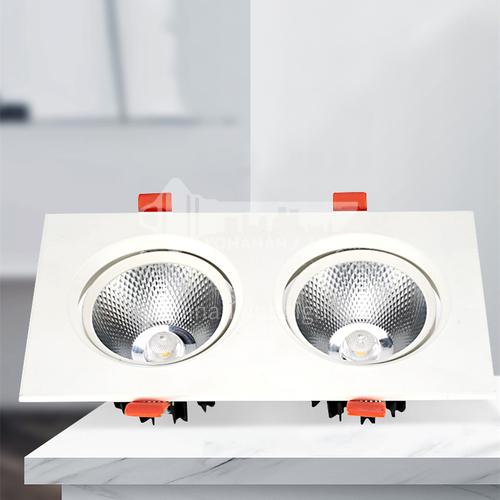 LED aluminum hotel apartment office double spotlight-AD-705