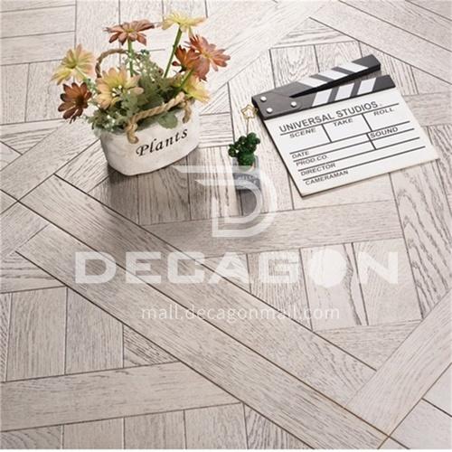 15mm multi-layer solid wood art parquet floor 9055