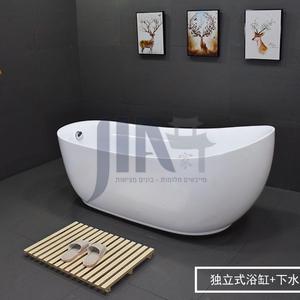אמבטיה אקרילית חופשית 1.5 1.6 1.7 1.8 2.2 מ 'אמבט ספא במלון